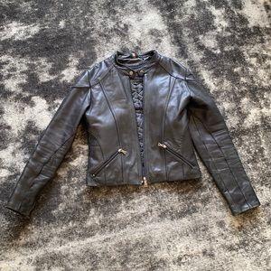 Knoles & Carter Black Leather Jacket